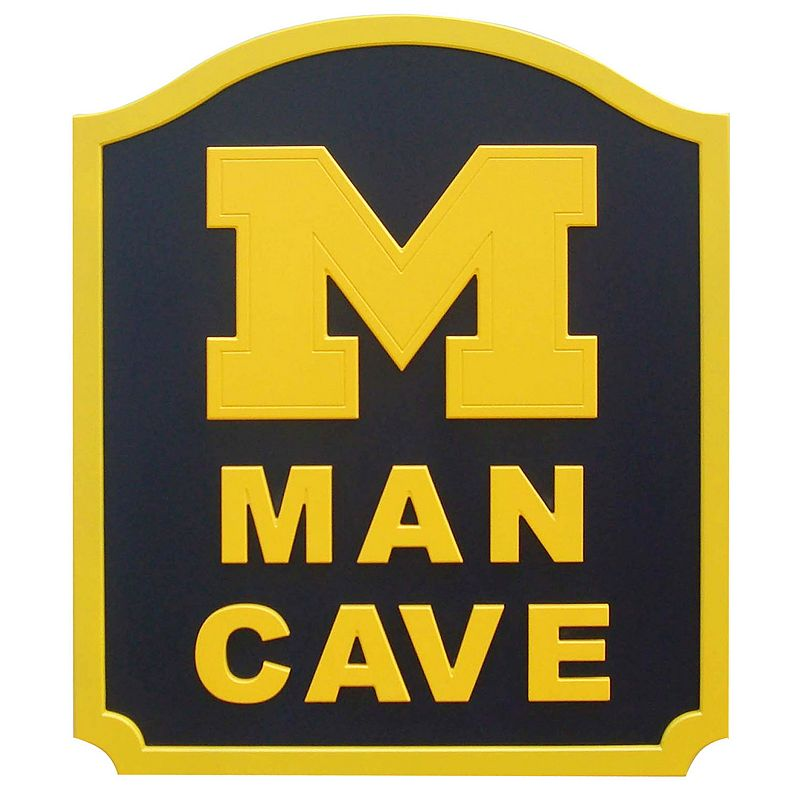 Man Cave Store In Michigan : Michigan wood wall art kohl s