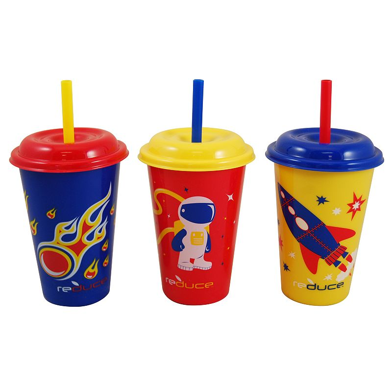 Reduce GoGo's Kids Cosmic 3-pc. Straw Tumbler Set