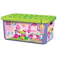 Mega Bloks First Builders Lil' Princess Shimmering Palace Tubtown Set