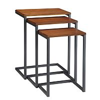 Carolina Cottage 3-pc. Addison Nesting Table Set