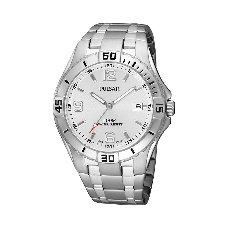 Pulsar Men's Stainless Steel Watch - PXH705