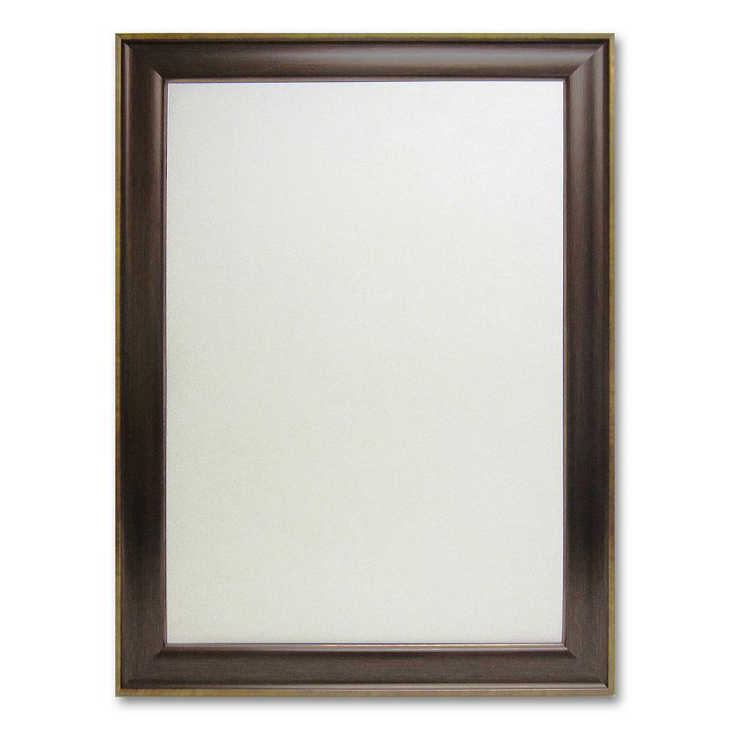 Cami Grand Bronze-Tone Framed Wall Mirror