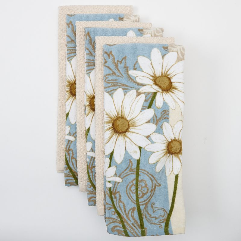The Big One® Daisy 6-pk. Kitchen Towels