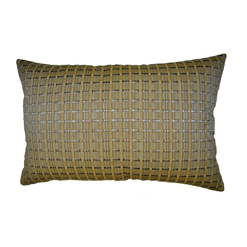 Spool Weave Decorative Pillow