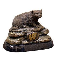 Wisconsin Badgers Tim Wolfe Sculpture