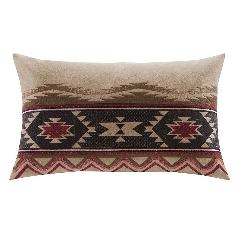 Woolrich Dog Decorative Pillow : WOOLRICH GRAND CANYON TRIBAL DECORATIVE PILLOW (RED)