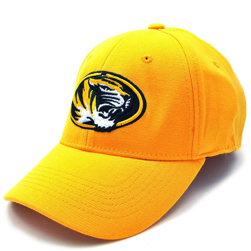 Men's Top of the World Missouri Tigers Premium Collection Baseball Cap