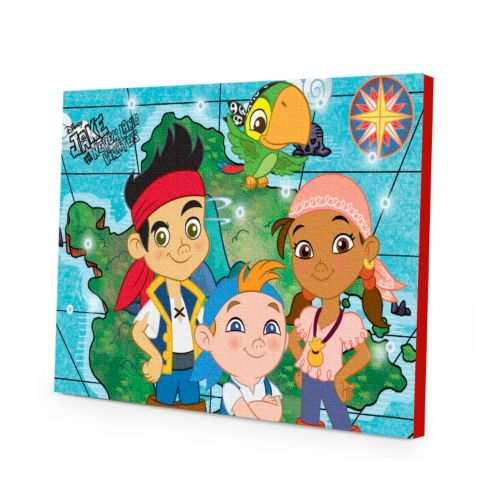 Disney Jake and the Never Land Pirates LED Light-Up Canvas Wall Art