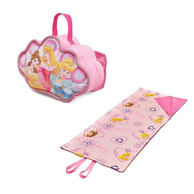 Disney Princess Travel Pillow and Convertible Slumber Sack Set