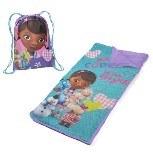 Disney Doc McStuffins Sleeping Bag and Sackpack Slumber Set