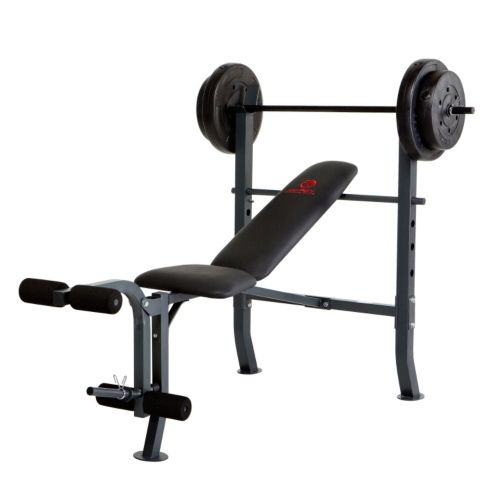 Marcy Diamond Weight Bench and 80-lb. Weight Set