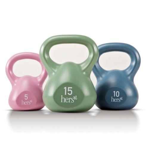 Marcy 30-lb. Kettlebell Kit