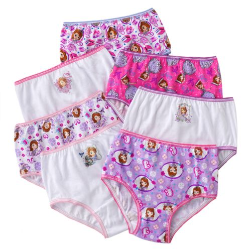 Disney Sofia the First 7-pk. Briefs - Toddler