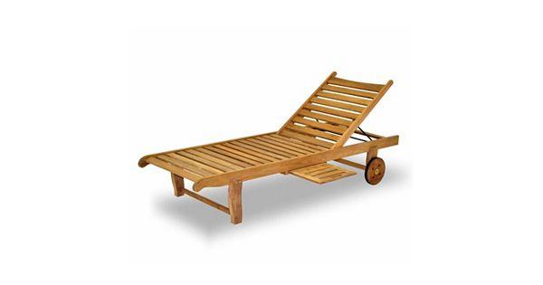 amazonia teak 2 pc teak windu chaise wheeled lounge chair set. Black Bedroom Furniture Sets. Home Design Ideas
