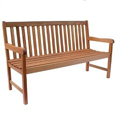 Amazonia Milano Large Outdoor Bench by
