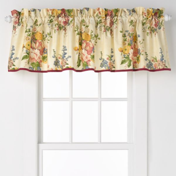 Chaps Home Dylan Window Valance - 80'' x 17''