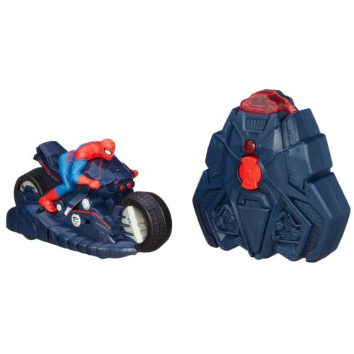 Spider-Man R/C Wall-Racing Spider Cycle by Hasbro