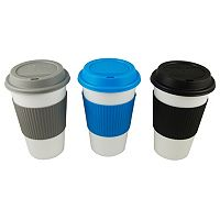 Reduce GoGo's Barista Slate White 3-pc. Travel Mug Set
