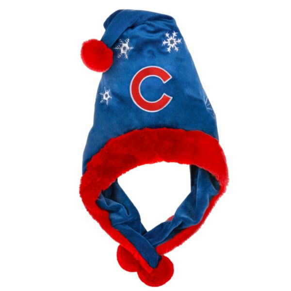 Adult Forever Collectibles Chicago Cubs Thematic Santa Hat