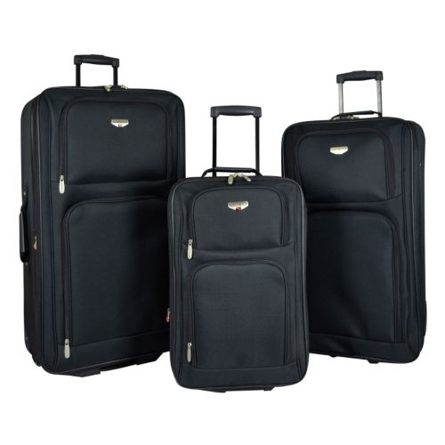 Travelers Club Luggage, Value 3-pc. Expandable Wheeled Luggage Set