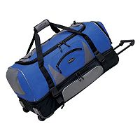Travelers Club 30-in. Drop-Bottom Wheeled Duffel Bag