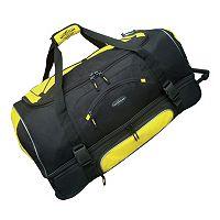 Travelers Club 30-in. Drop-Bottom Wheeled Duffel Bag