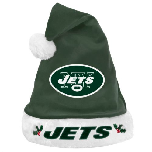 Forever Collectibles New York Jets Santa Hat - Adult