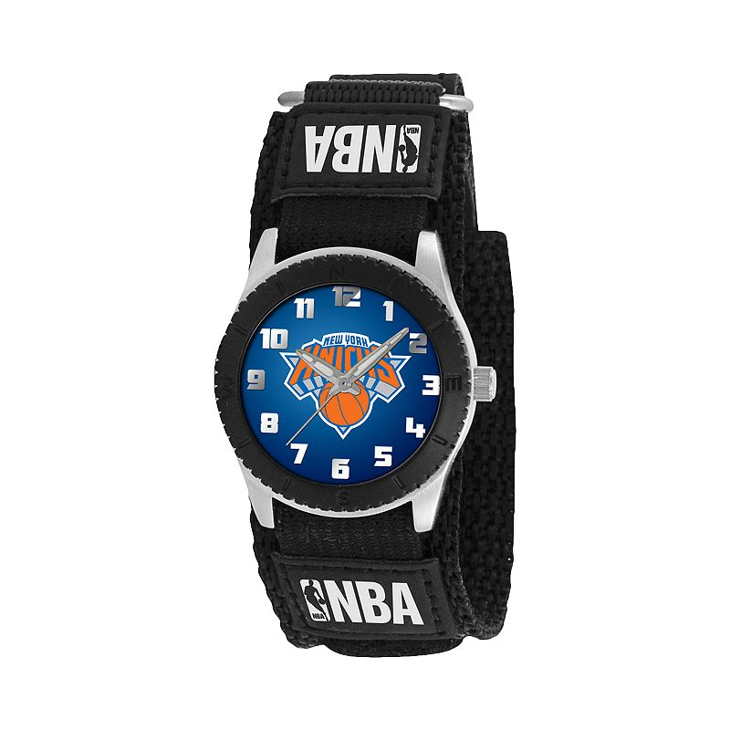 Game Time Rookie Series New York Knicks Silver Tone Watch - NBA-ROB-NY - Kids