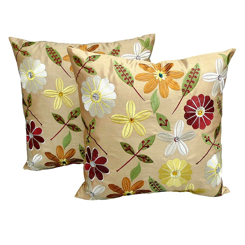 Kohls Purple Throw Pillows : Flower Throw Pillow. Watercolor Floral Pillow Colorful Throw By PillowThrowDecor. Decorative ...