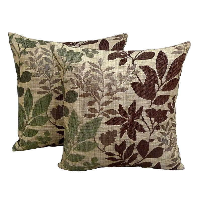 Decorative Pillows From Kohls : Essentials Bristol Chenille Jacquard 2-pk. Decorative Pillows