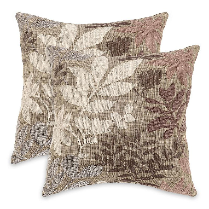 Essentials Bristol Chenille Jacquard 2-pk. Decorative Pillows