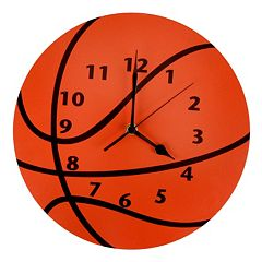 Trend Lab Basketball Wall Clock by