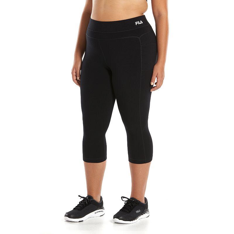 Plus Size FILA SPORT® Trail Skimmer Yoga Capris