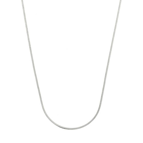 Sterling Silver Snake Chain Necklace - 18-in.