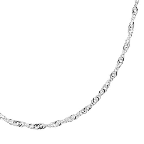 Sterling Silver Lightweight Chain Necklace - 24-in.
