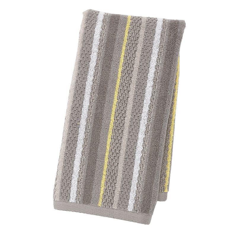 Spring Garden Striped Hand Towel