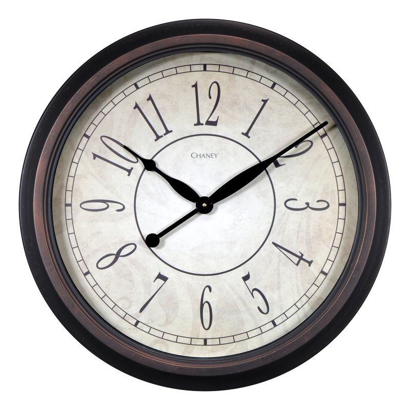 Chaney 24-in. Updated Wall Clock, Multicolor