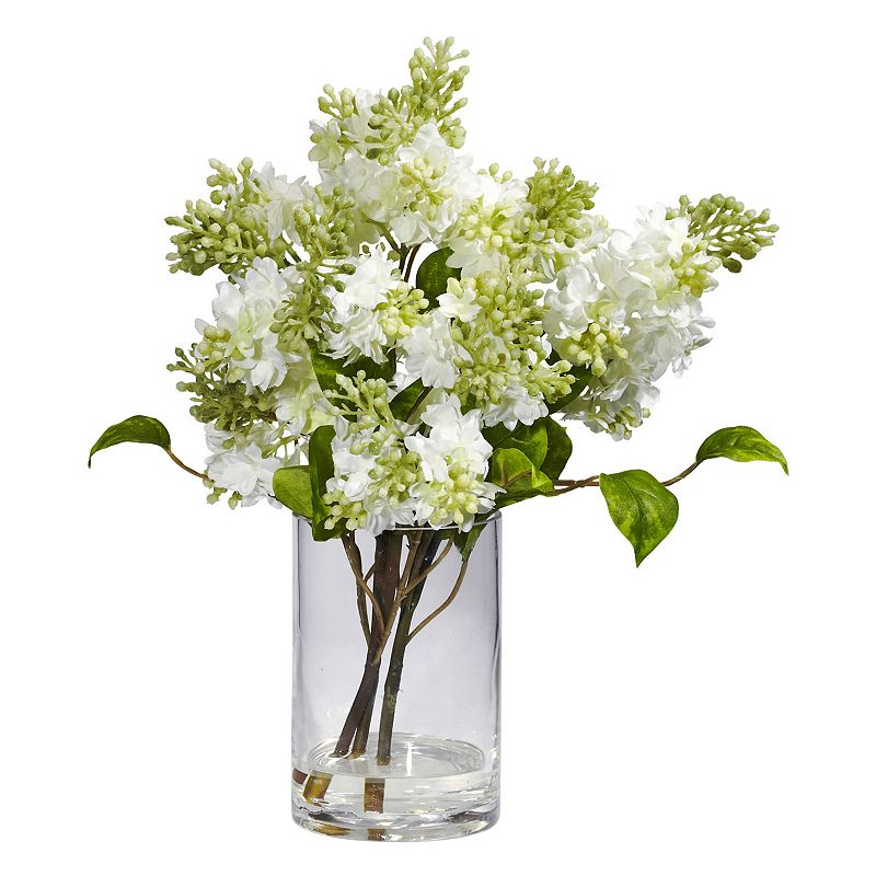 nearly natural Silk Lilac Floral Arrangement