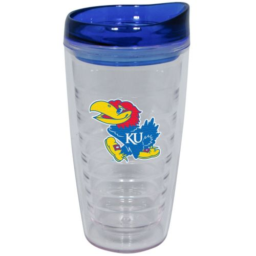 Kansas Jayhawks Slimline Tumbler