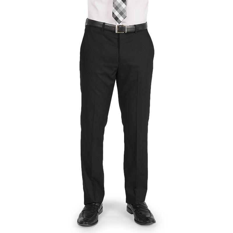 Men's Apt. 9® Slim-Fit Solid Flat-Front Suit Pants