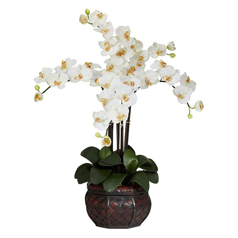 nearly natural Silk Phalaenopsis Floral Arrangement