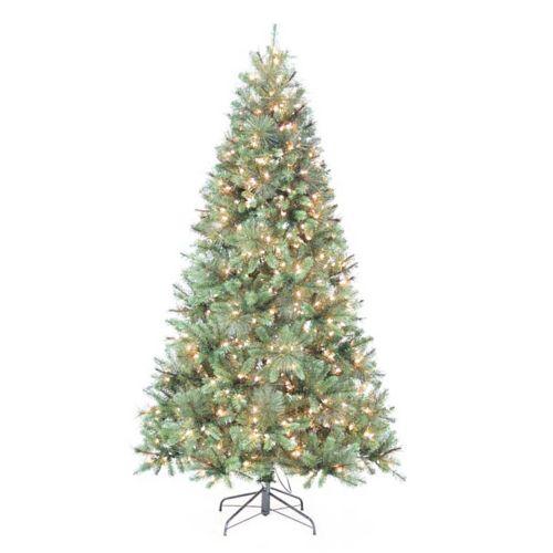 St. Nicholas Square® 7-ft. Pine Pre-Lit Artificial Christmas Tree - Indoor