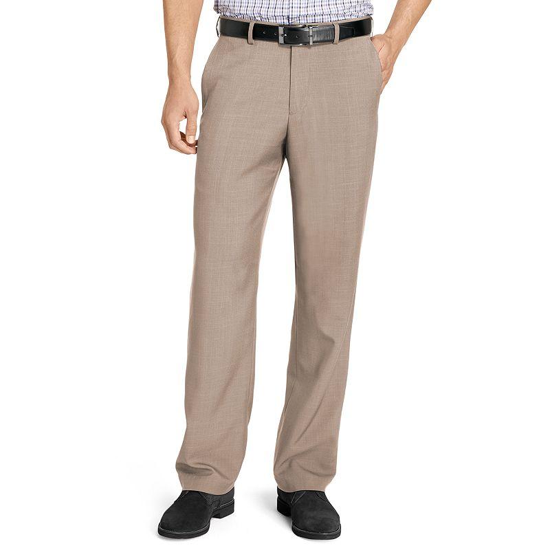 Big & Tall Van Heusen No-Iron Flat-Front Dress Pants