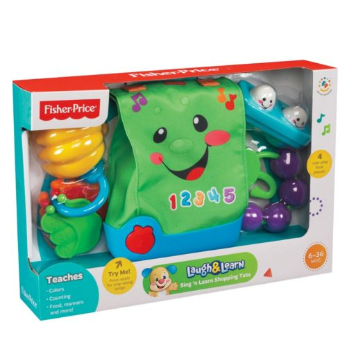 Fisher-Price Laugh and Learn Sing 'n Learn Shopping Tote