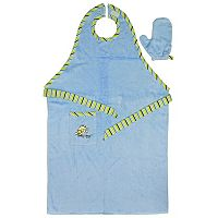 Neat Solutions Stay-Dry Bath Apron & Towel - Blue