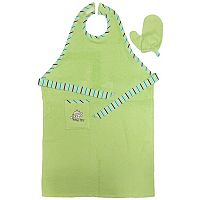 Neat Solutions Stay-Dry Bath Apron & Towel - Green