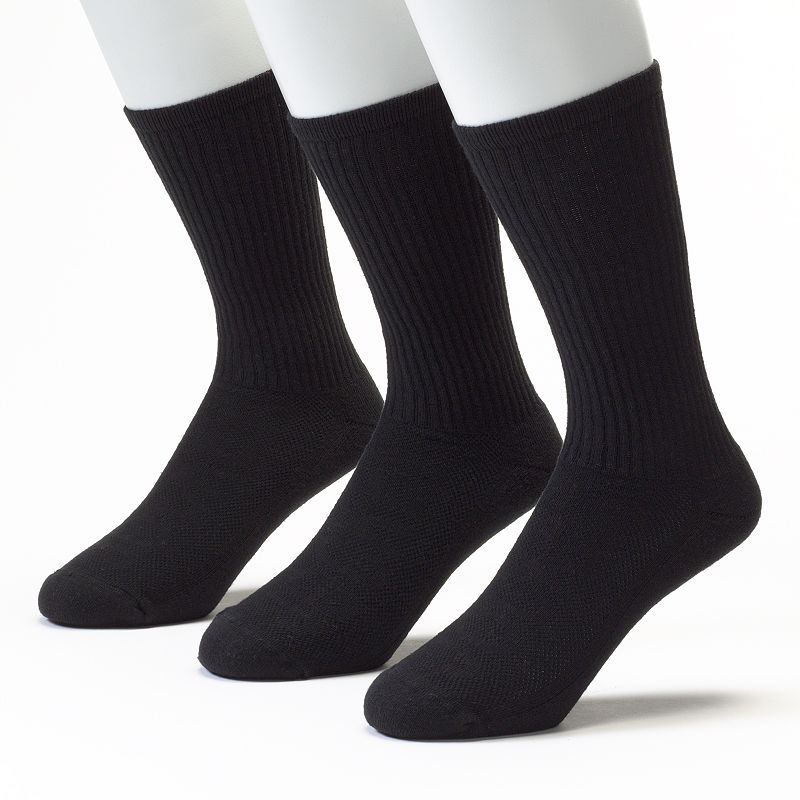 Men's Jockey 3-pk. Sport Performance Crew Socks