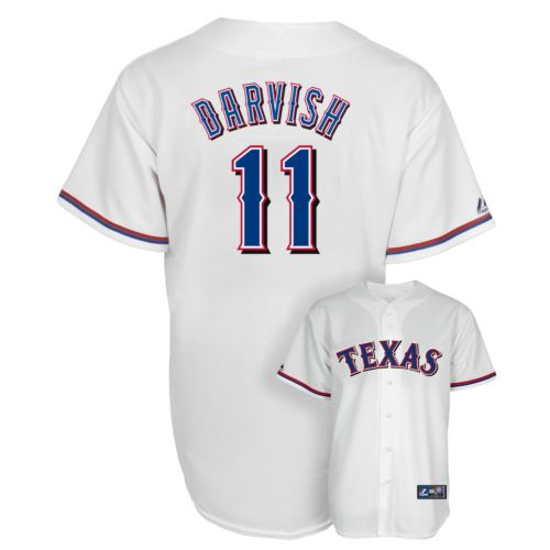 Majestic Texas Rangers Yu Darvish Jersey - Men