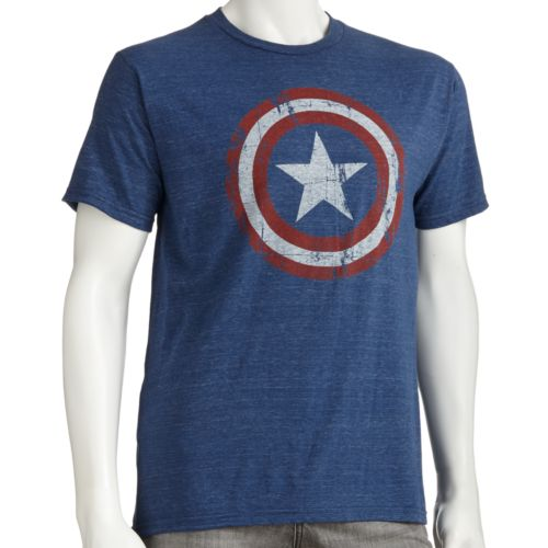 Captain America Shield Tee - Men