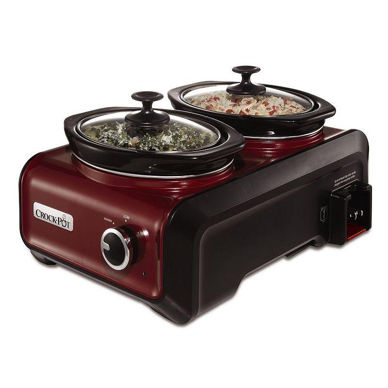 Crock-Pot Double 1-qt. Hook Up Connectable Entertaining System